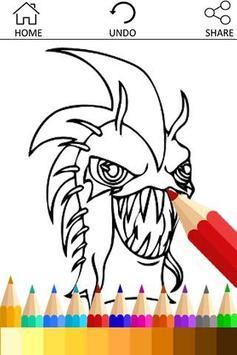 Coloring Slugterra Slug Fans poster