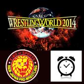 新日本職業摔角聯盟NJPW時鐘 icon