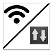 Wifi/Mobile Data Switch icon
