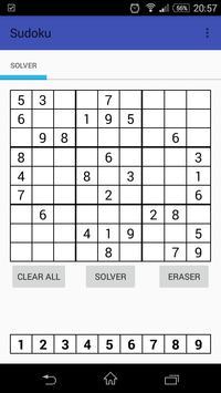 MZ Sudoku Solver apk screenshot