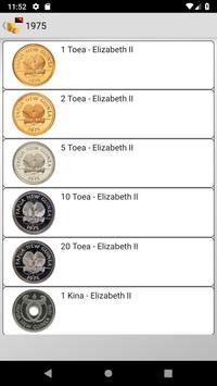 Coins from Papua New Guinea screenshot 10