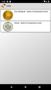 Coins from Ottoman Empire poster