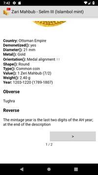 Coins from Ottoman Empire screenshot 2