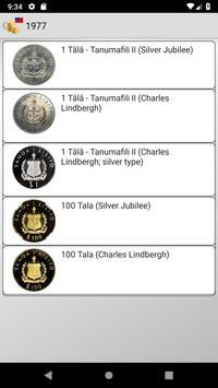 Coins from Samoa screenshot 10