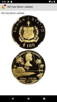 Coins from Samoa screenshot 1