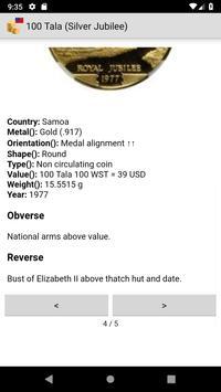 Coins from Samoa screenshot 2
