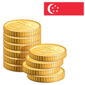 Coins from Singapore icon