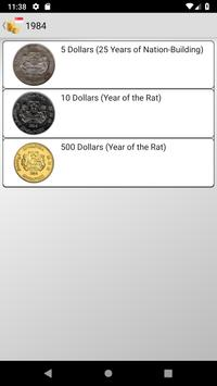 Coins from Singapore poster