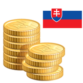 Coins from Slovakia icon