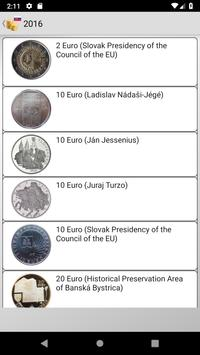 Coins from Slovakia poster