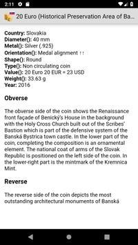 Coins from Slovakia screenshot 2