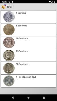 Coins from Philippines screenshot 5