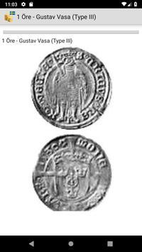 Coins from Sweden screenshot 1