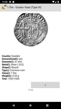 Coins from Sweden screenshot 2