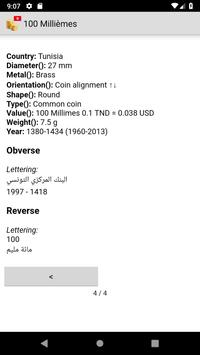 Coins from Tunisia screenshot 7