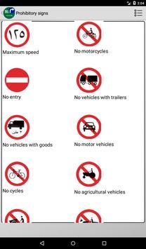 Road signs (Traffic signs) in Saudi Arabia screenshot 2