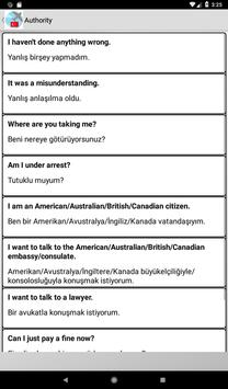 Turkish phrasebook screenshot 22
