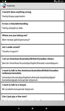 Turkish phrasebook screenshot 6