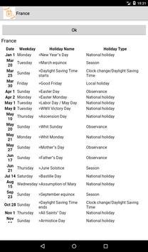 Holidays and Observances around the world screenshot 1