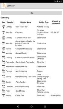 Holidays and Observances around the world screenshot 2