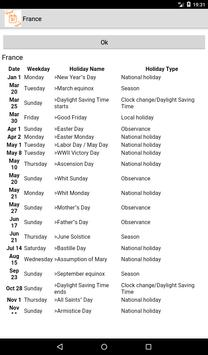 Holidays and Observances around the world screenshot 5