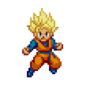 Super Saiyan - Color by Number icon