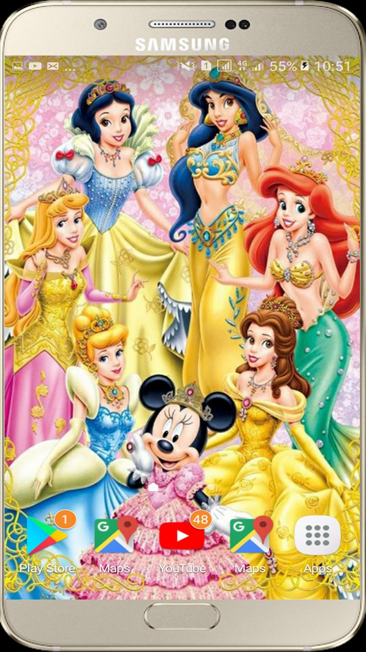 Disney Princess Wallpapers Free 8k For Android Apk Download