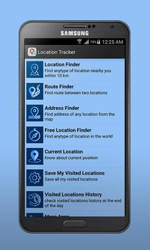 Location Finder & Tracker poster