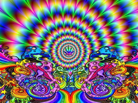 Trippy Weed Live Wallpaper apk screenshot