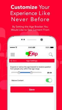Zip - The Question Answer App apk screenshot