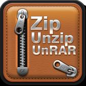 Zip UnRar Unzip icon