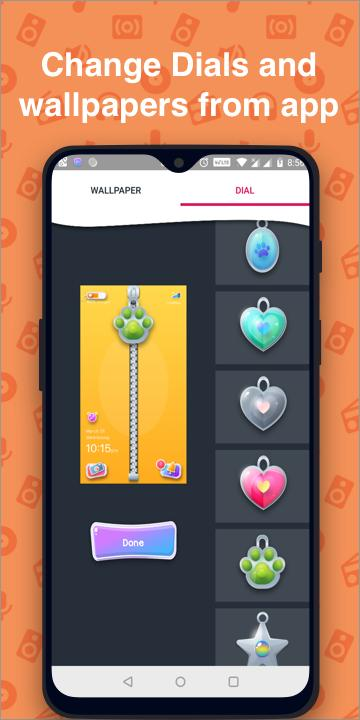 Cute Zipper Lock Screen Wallpaper Phone Lock Free For Android Apk