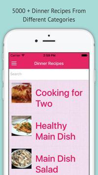 Dinner Recipes - Offline App poster
