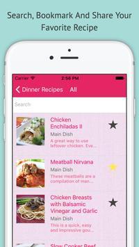 Dinner Recipes - Offline App screenshot 1