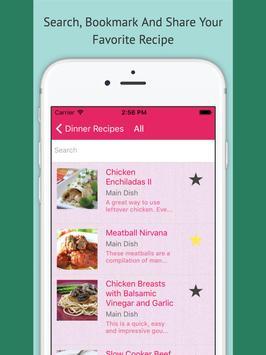 Dinner Recipes - Offline App screenshot 3