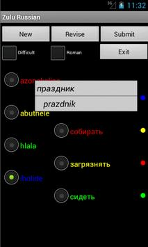 Zulu Russian Dictionary apk screenshot