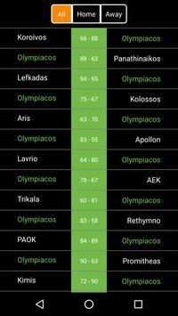 Greece Basketball Scores apk screenshot