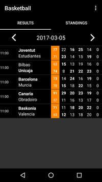 Spain Basketball Scores poster