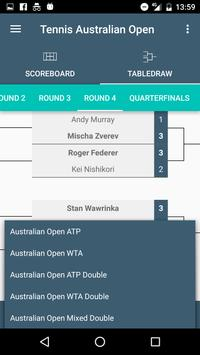 Tennis Scores ATP & WTA World Tour Tournaments screenshot 2