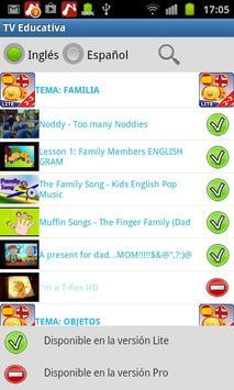 Educational TV L1 (Lite) screenshot 4