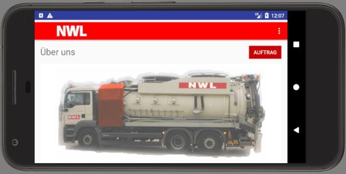 NWL Auftrag apk screenshot