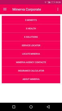 Minerva Corporate poster