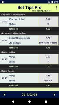 Betting Sky Tips FREE Odds apk screenshot