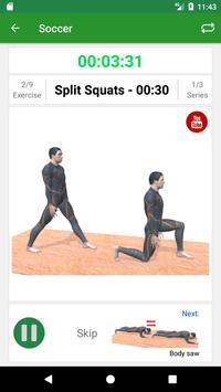 Soccer Training Workout apk screenshot