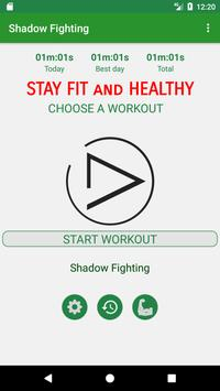 Fight Like a Shadow Workout poster