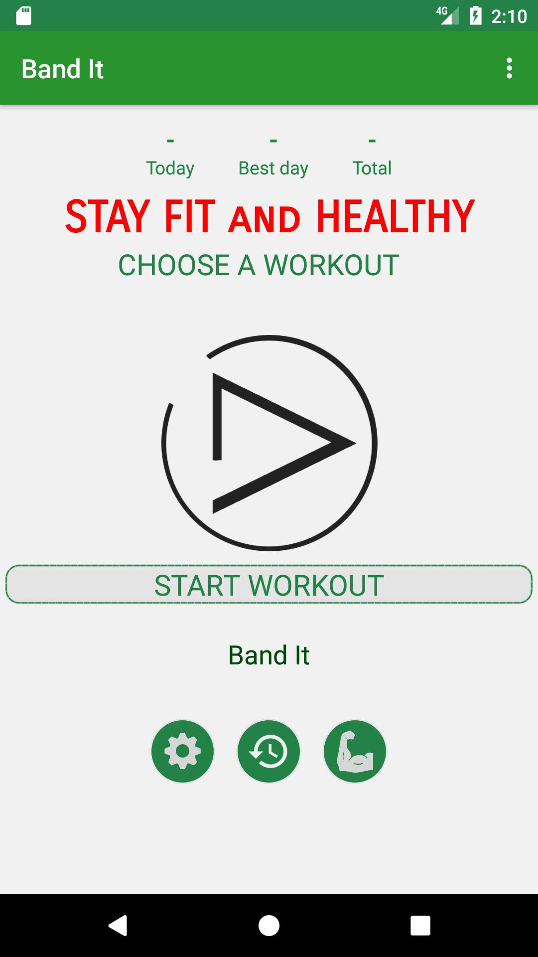 Band It Resistance Band Workout Routine For Android Apk Download
