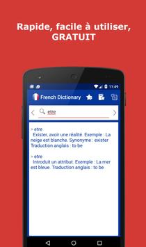 French Dictionary poster