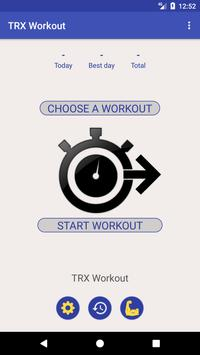 TRX Workout poster