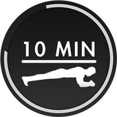 10 Minute Planks icon