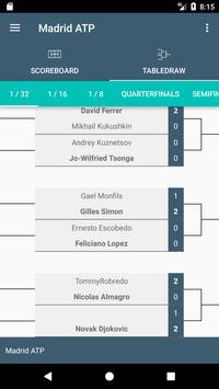 Scores for Tennis Madrid Open screenshot 2